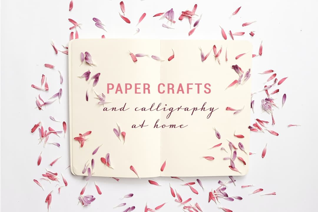Paper Crafts at Home Title