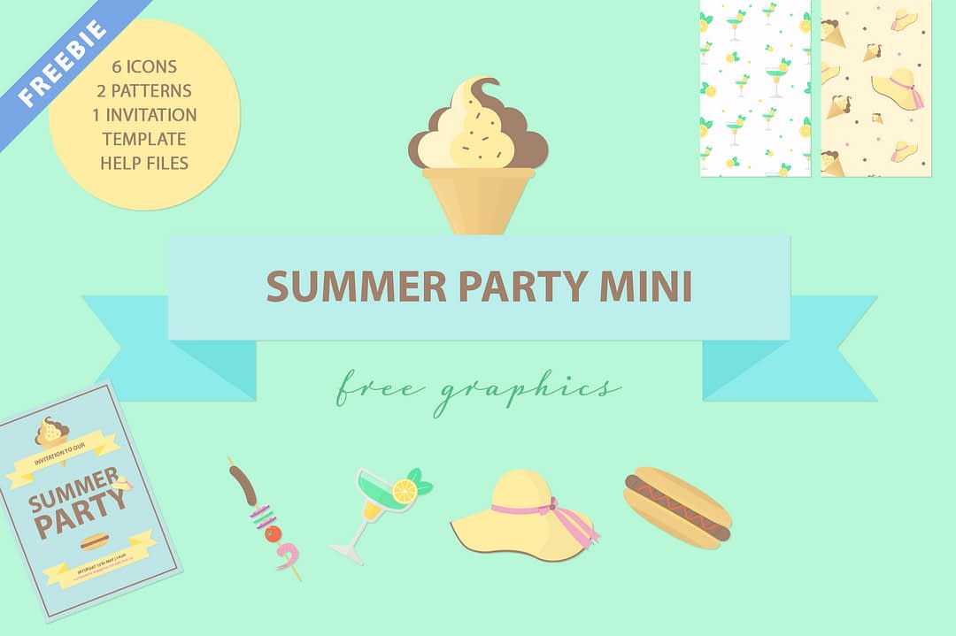 Summer Party Freebie