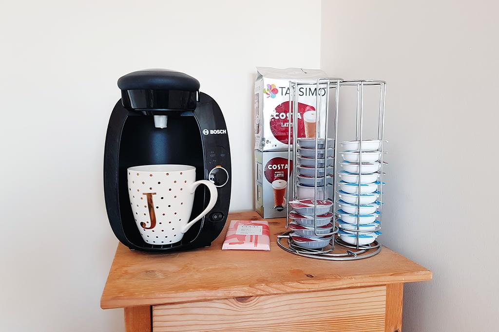 My coffee machine, a work comfort.