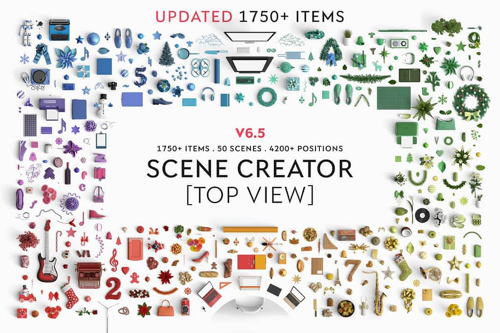 Top View Scene Creator by ByPeople
