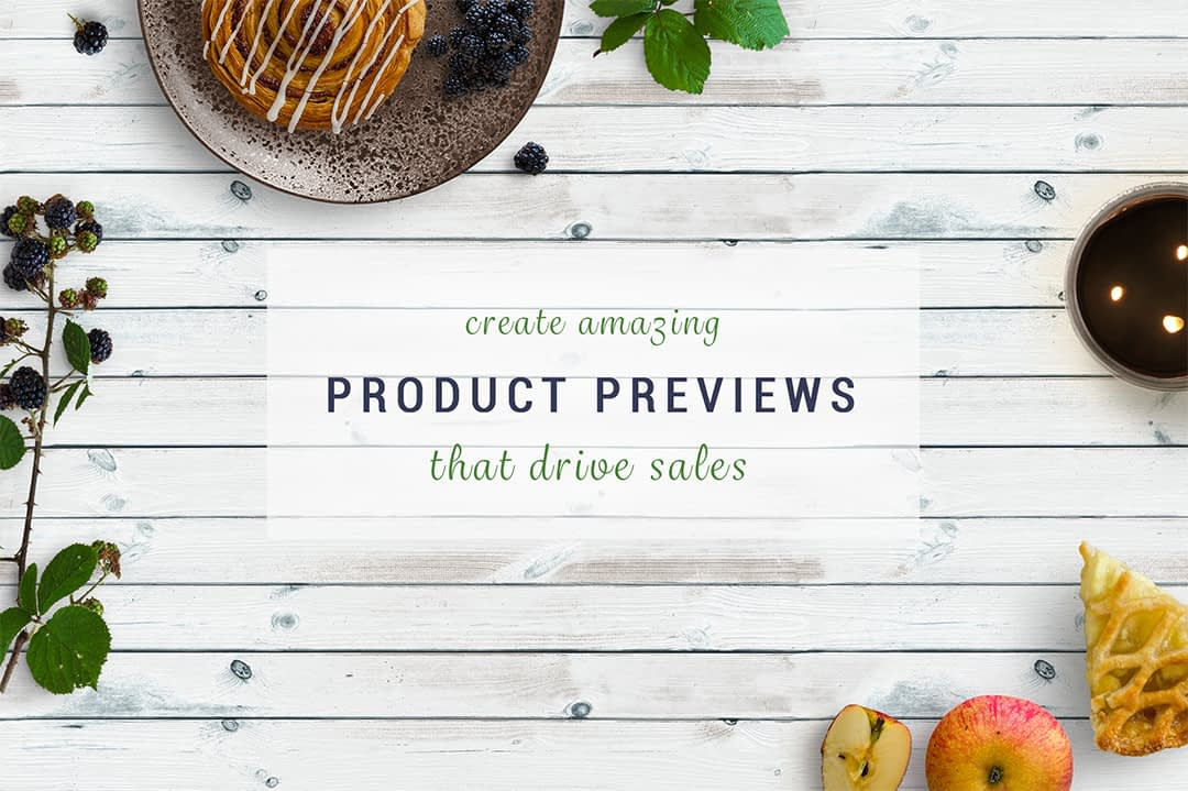 Product previews that drive sales
