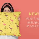 Prints and merchandise at my new Society6 store