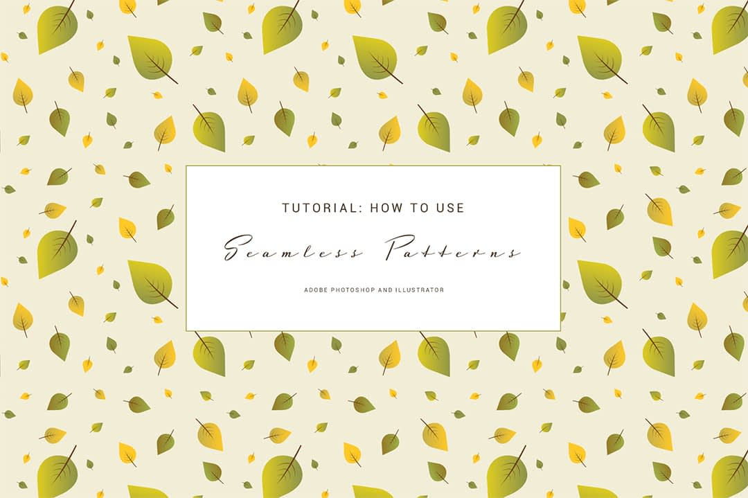 How to use seamless patterns